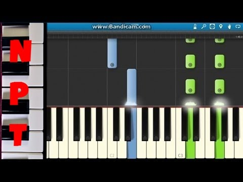 Frozen - Martina Stoessel - Libre Soy Piano Tutorial - Como Tocar - Synthesia