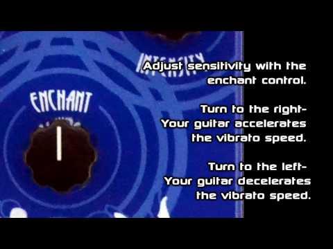 Subdecay Siren Touch Sensitive Pitch Vibrato Pedal