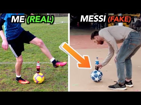 Footballers FAKED these Tricks, But I did them for REAL!!
