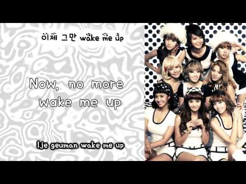 Girls' Generation/SNSD (소녀시대)- Wake Up Eng/Rom/Han