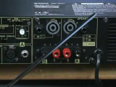 yamaha p series power amplifier youtube. Black Bedroom Furniture Sets. Home Design Ideas