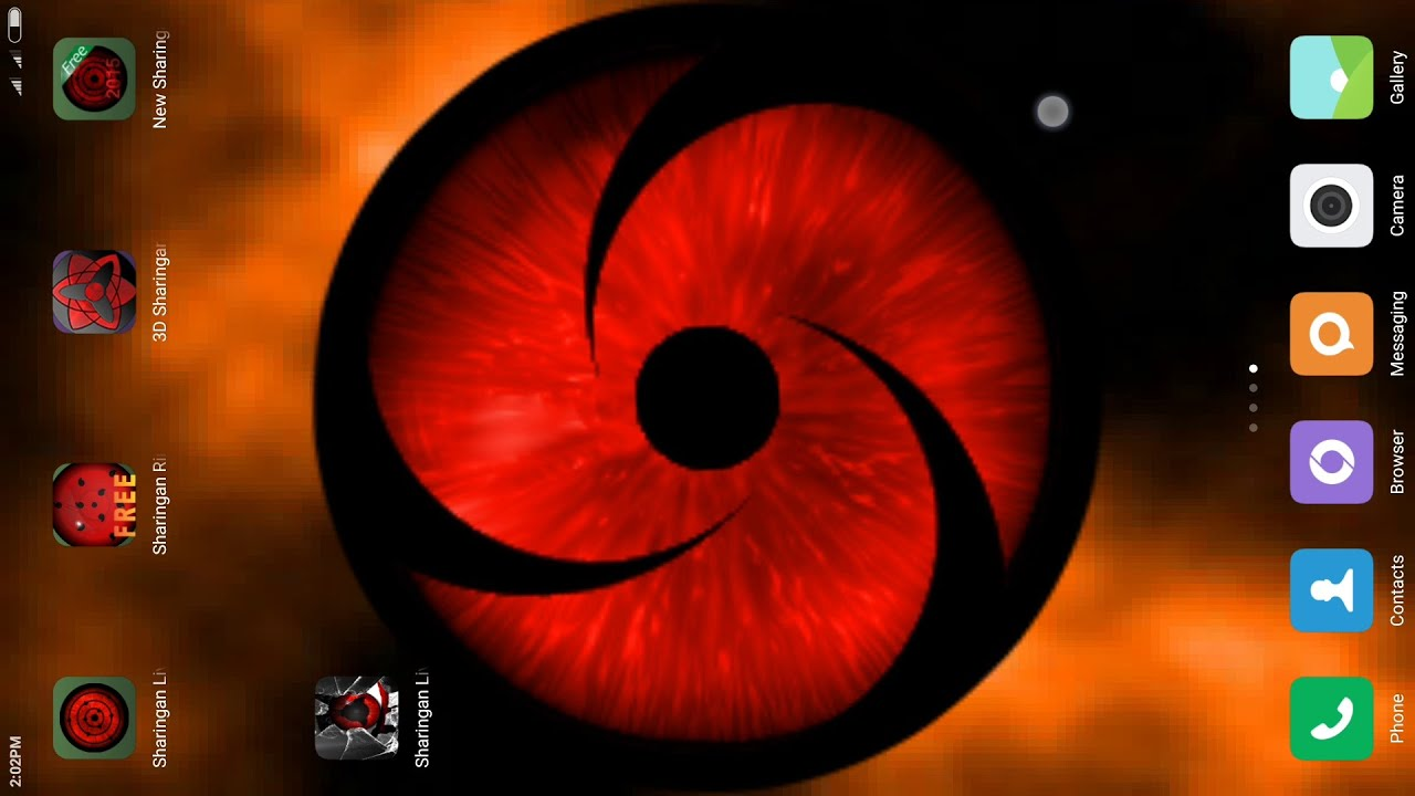 Sharingan Live Wallpaper For Android Free Download