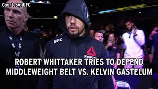 UFC 234: Robert Whittaker Vs. Kelvin Gastelum Preview