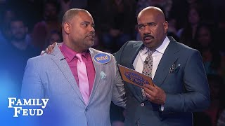 NAILBITER! Nicolas is just 14 points away from $20,000 | Family Feud