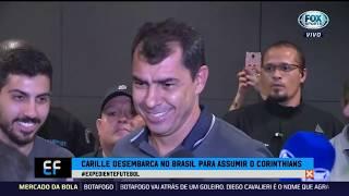 CARILLE EM CASA! Novo treinador do Corinthians fala em desembarque no Brasil