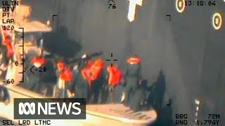 US releases new images of tanker attack it blames on Iran   ABC News