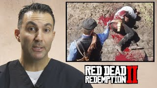 ER Doctor Evaluates Injuries In Red Dead Redemption 2 • Pro Play