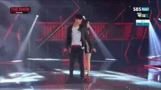 [HD] 140701 T-ara Ji Yeon - Trouble Maker @ The Show