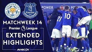 Leicester City v. Everton | PREMIER LEAGUE HIGHLIGHTS | 12/01/19 | NBC Sports
