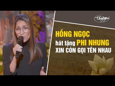 Hồng Ngọc hát tặng Phi Nhung