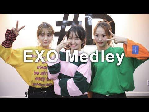 EXO Dance Medley (엑소 댄스 메들리) (#DPOP Mirror Mode)