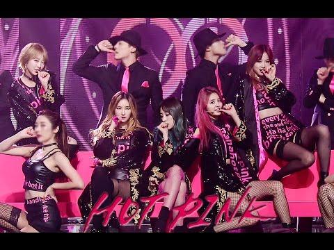 EXID - Hot Pink (핫핑크) 무대 교차편집 [Live Compilation/Stage Mix]