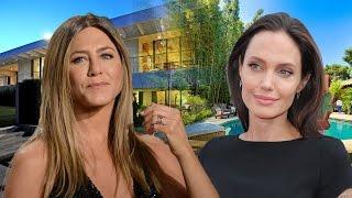 Angelina Jolie vs Jennifer Aniston House Tour 2017