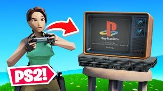 *NEW* PS2 LARA CROFT in FORTNITE!