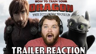 How To Train Your Dragon 3 Trailer Reaction