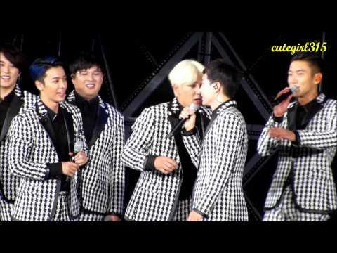 (Fancam) 140815 Smtown seoul SJ ment - Eunhyuk and leeteuk focus~