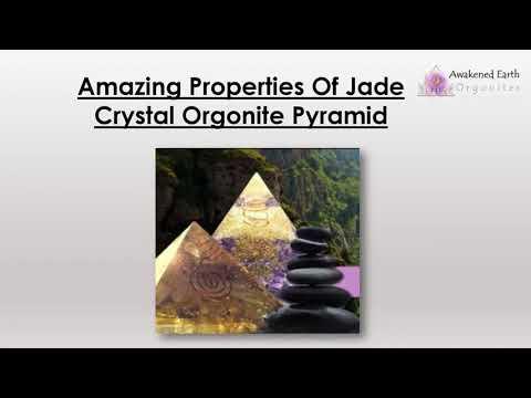 Amazing Properties Of Jade Crystal Orgonite Pyramid