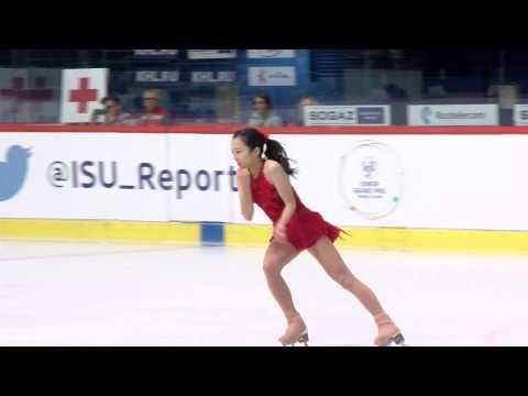 2015 ISU Junior Grand Prix - Zagreb Ladies Free Skate Marin HONDA JPN