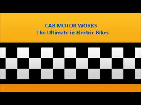 Exclusive Collection of Complete Ebikes at CAB Motorworks