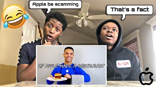 "Reacting to Kyle Exum ""If Apple Made a Restaurant"""