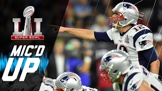 Super Bowl LI: Patriots vs. Falcons Mic'd Up | NFL Films | Sound FX