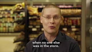 Tomi's story: First time in a store in 25 years