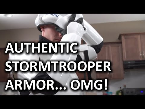 Original Stormtrooper Armor - Signature Edition - Smashpipe Tech