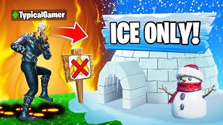 I Went UNDERCOVER in a HOT vs COLD Tournament! (Fortnite)