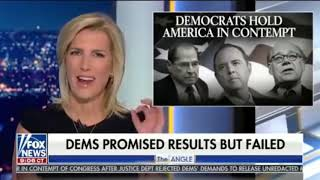 Laura Deconstructs Democrats holding AG Barr (No, America) in Contempt