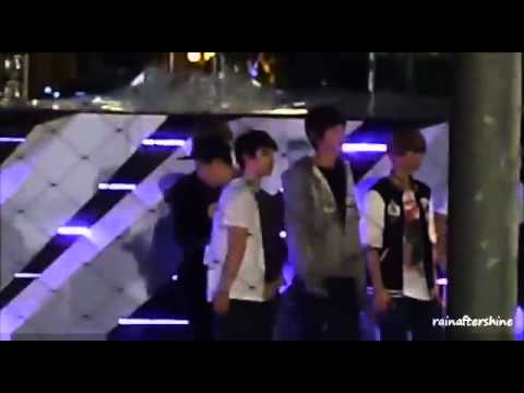 121122 EXO rehearsal 裏 Backstage 무대 뒤에서 SNSD @ SMTOWN in Singapore 엑소 少女時代