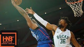 Philadelphia Sixers vs Milwaukee Bucks Full Game Highlights / July 14 / 2018 NBA Summer League