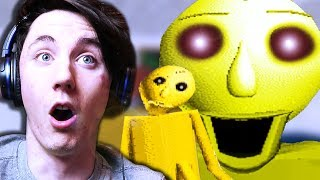 GOLDEN BALDI?! CHAOS! || Five Nights at Baldi's Basics in Education and Learning