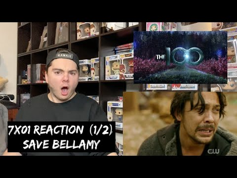 THE 100 - 7x01 'FROM THE ASHES' REACTION (1/2)