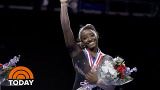 Simone Biles Nabs 6th US Title With Historic Triple-Double | TODAY