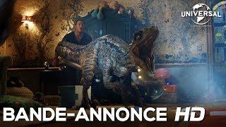 Jurassic world : fallen kingdom :  bande-annonce finale VF