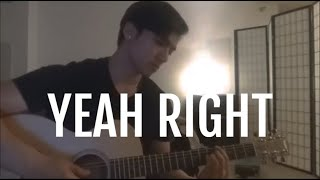 joji - yeah right (acoustic cover)