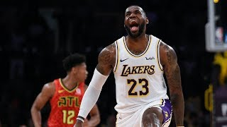 LeBron No Look Lob Kuzma! Kobe Showing Love! 2019-20 NBA Season