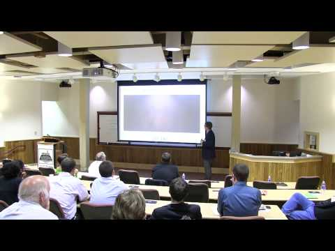 Dr. Chris Williams Speaks on Additive Manufacturing (Advanced Manufacturing Symposium)