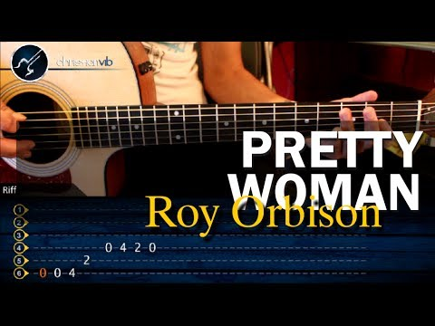 Baixar Como tocar PRETTY WOMAN  - Roy Orbison - en guitarra Acustica (HD) Tutorial
