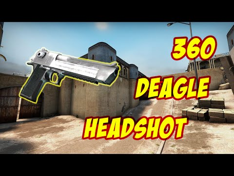 CS:GO FUNNY MOMENTS - INSANE 360 DEAGLE HEADSHOT - EPISODE #2