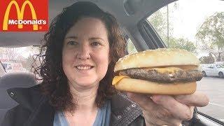 McDonald's New Fresh Beef Quarter Pounder Review