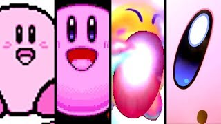 Kirby Evolution of KIRBY'S COPY ABILITY 1993-2018 (Star Allies to NES)