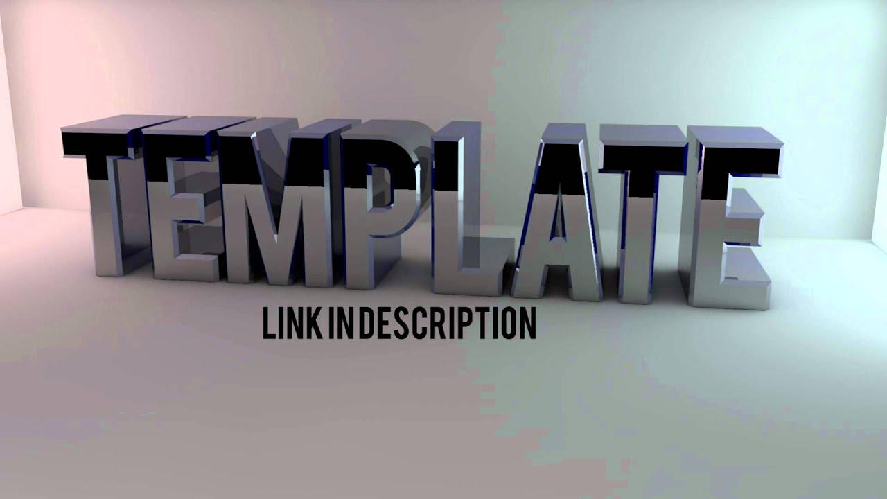 Cinema 4D Desktop Background Template - YouTube