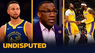Warriors spoil Russ Westbrook's Lakers debut on opening night - Skip & Shannon I NBA I UNDISPUTED