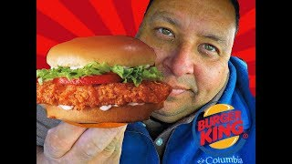 Burger King's® New Spicy Crispy Chicken Sandwich REVIEW!