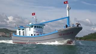Chạy thử tàu cá  KIM ANH