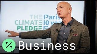 Jeff Bezos se compromete a cumplir con el acuerdo climático de París 10 años antes