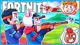 *AMAZING* SNIPERS vs. PLANES MINI GAME in Fortnite Creative Mode! (Fortnite Funny Moments)
