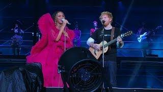 Beyoncé and Ed Sheeran - XO / Perfect  Global Citizens Festival Johannesburg, SA 12/2/2018