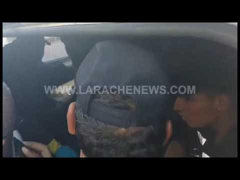 اللحظات الأولى لاعتقال المتورط في الهجوم